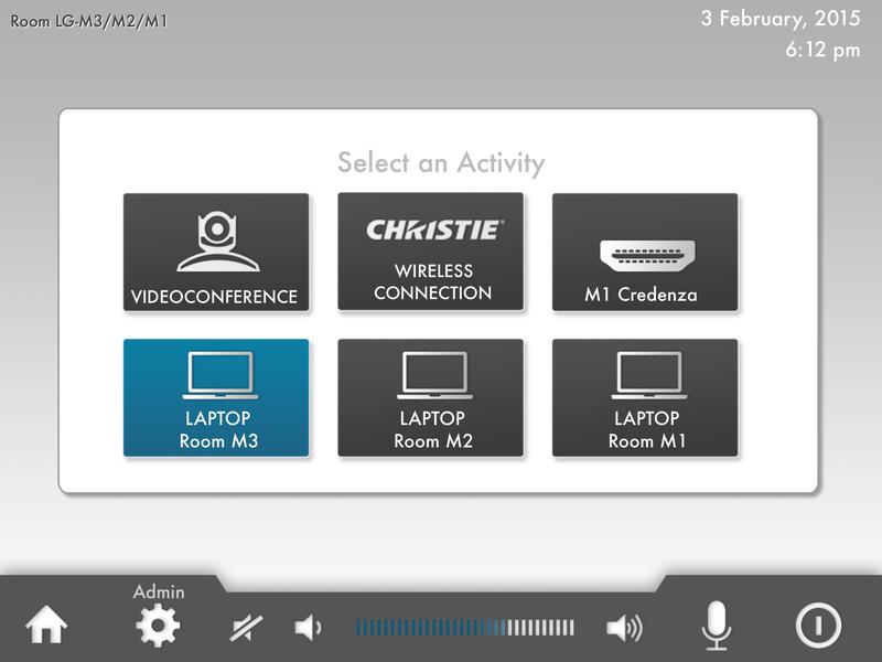 Euromoney GUI AV Control System