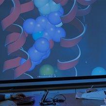 Heptares boardroom 3D projector