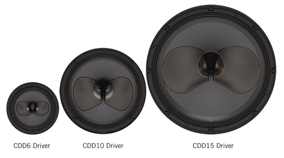 CDD speaker range