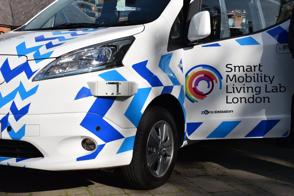 SMLL test vehicle