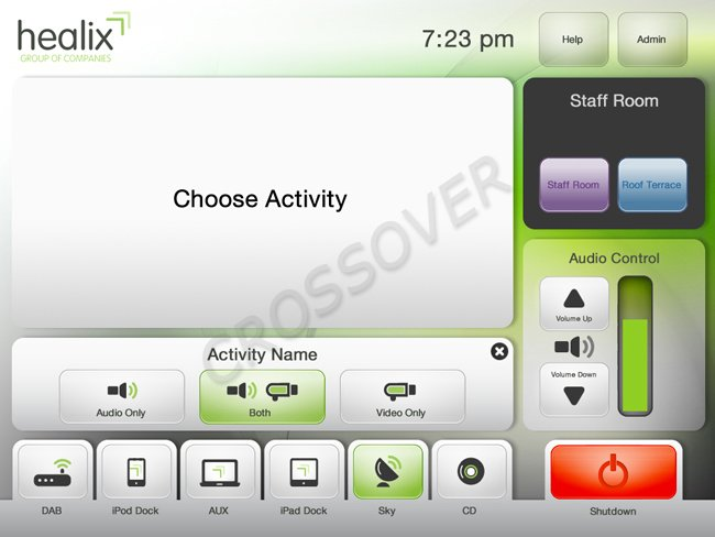 Healix Control Interface