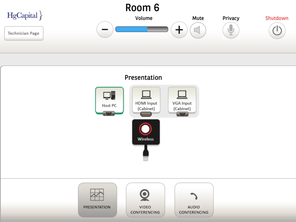 HgCapital iPad app