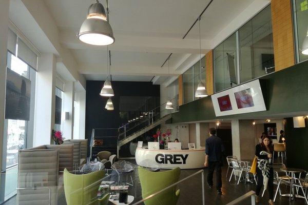 Grey London - reception area