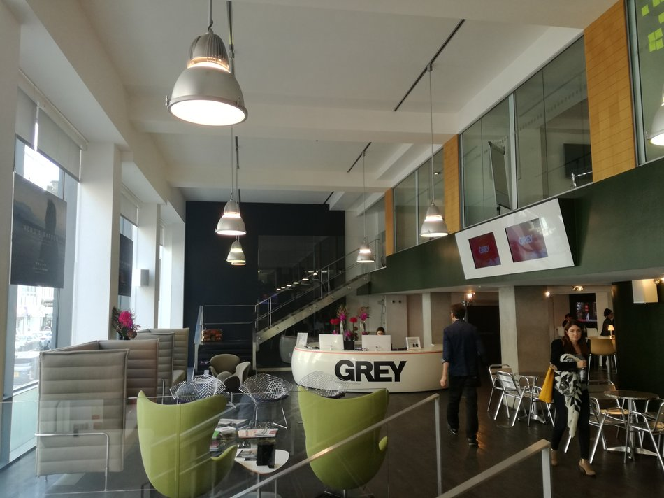 Grey London - reception area