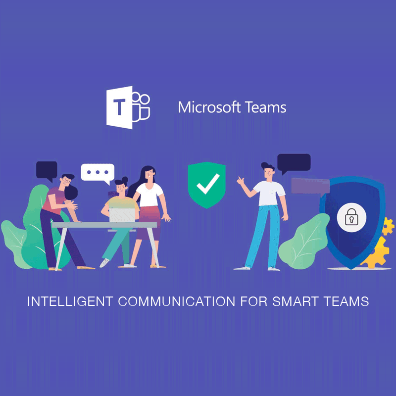 microsoft teams communication graphic