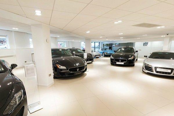 Maserati Showroom 3