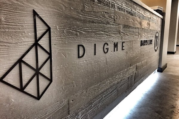 Digme Moorgate reception desk