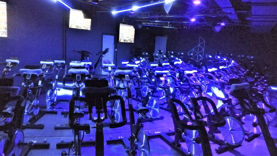Digme Fitness, Blackfriars. Spin Room