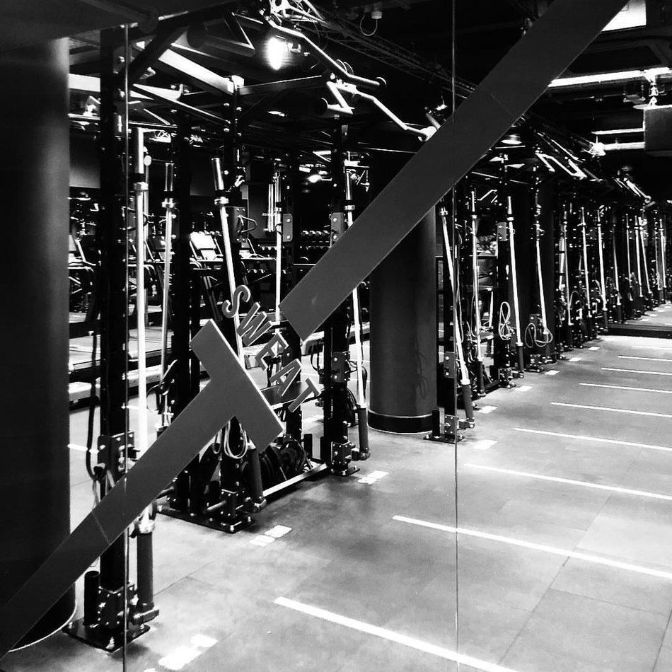 Sweat It gym mirror