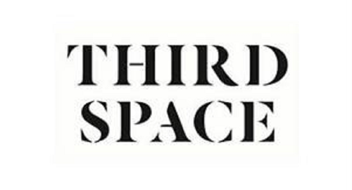 Third space logo black on white