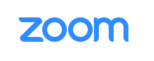 Zoom logo with border