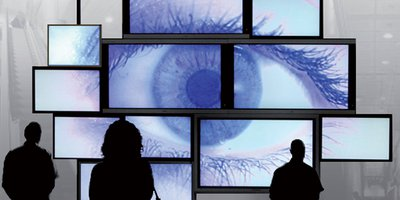 digital signage eye videowall
