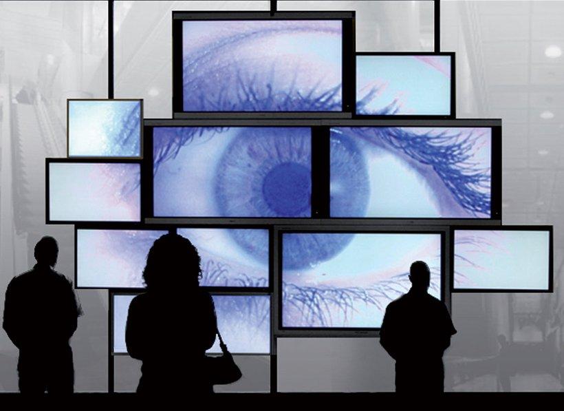 digital signage eye videowall