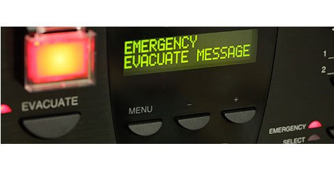emergency evacuate message