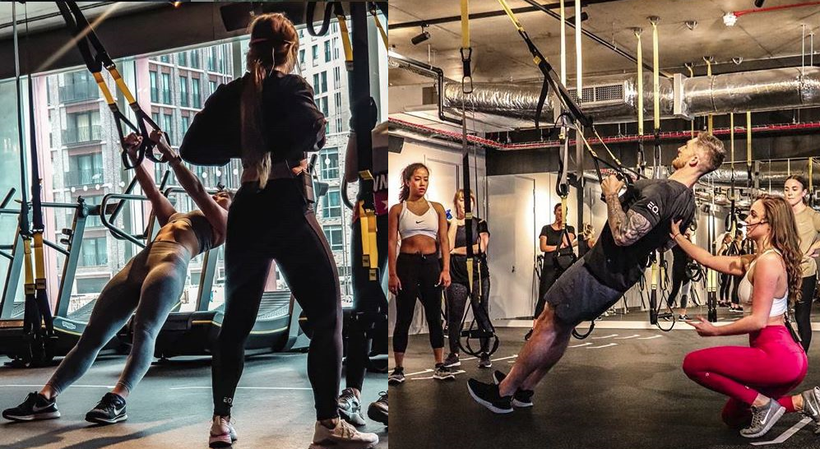 Equilibrium gym TRX training