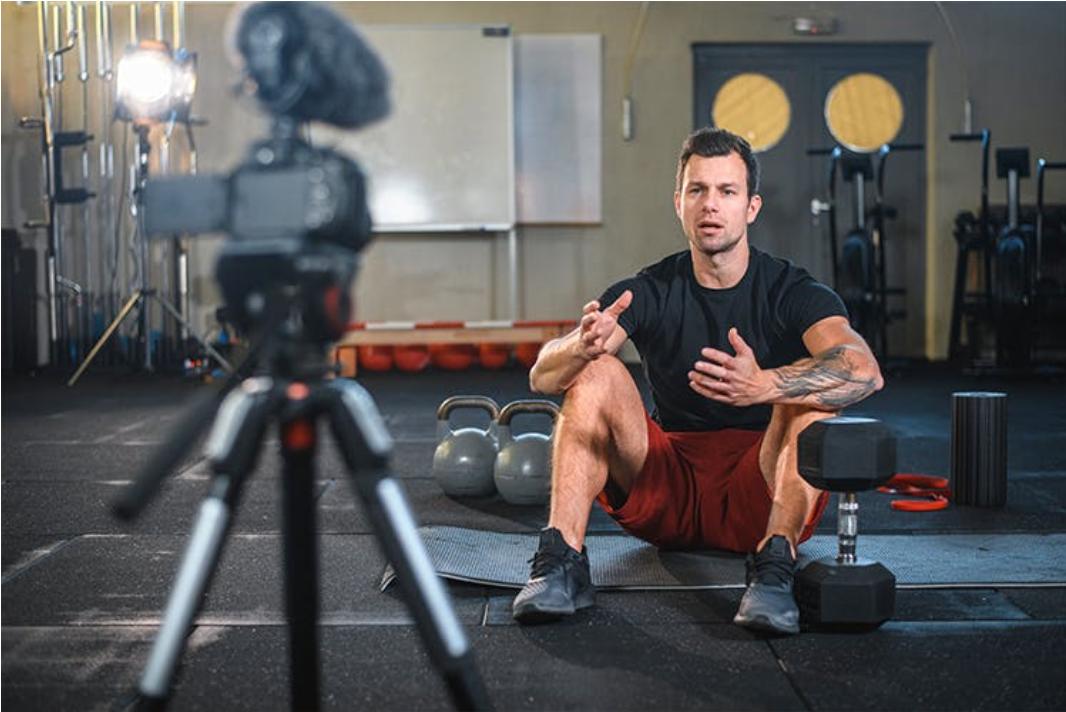fitness instructor streaming recording.jpg