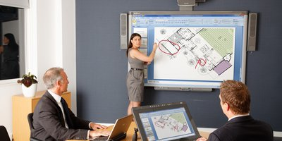 interactive whiteboard smart