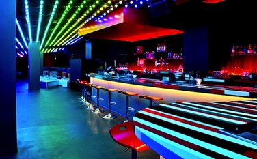 nightclub bar sound system