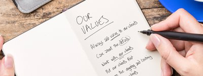 Our Values crop