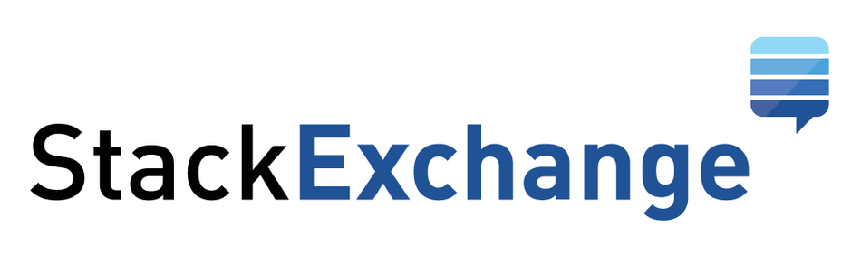 stack exchange logo white background