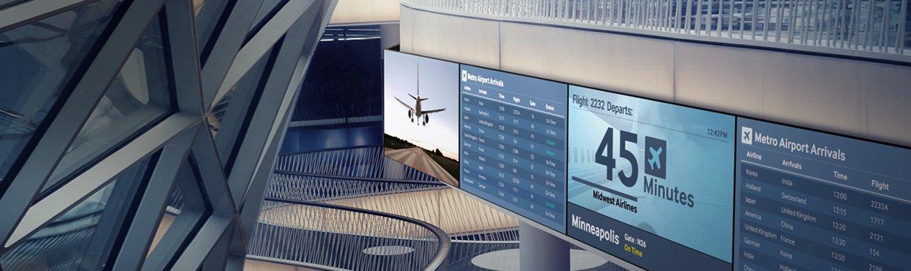 signage airport