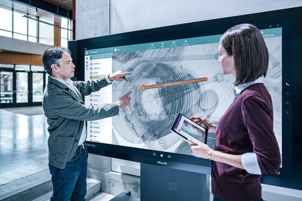 Microsoft Surface Hub engineering