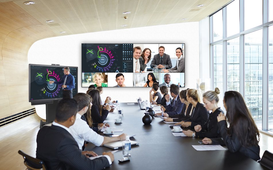 videoconferencing video wall