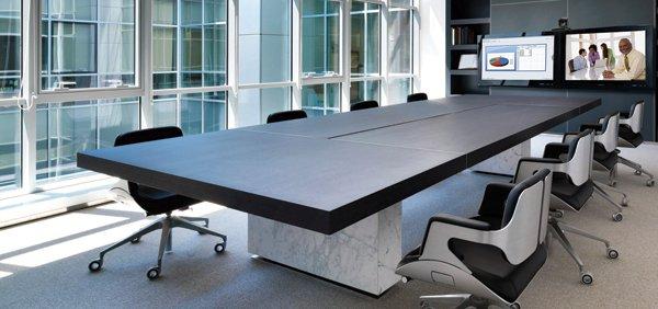 Videoconferencing boardroom